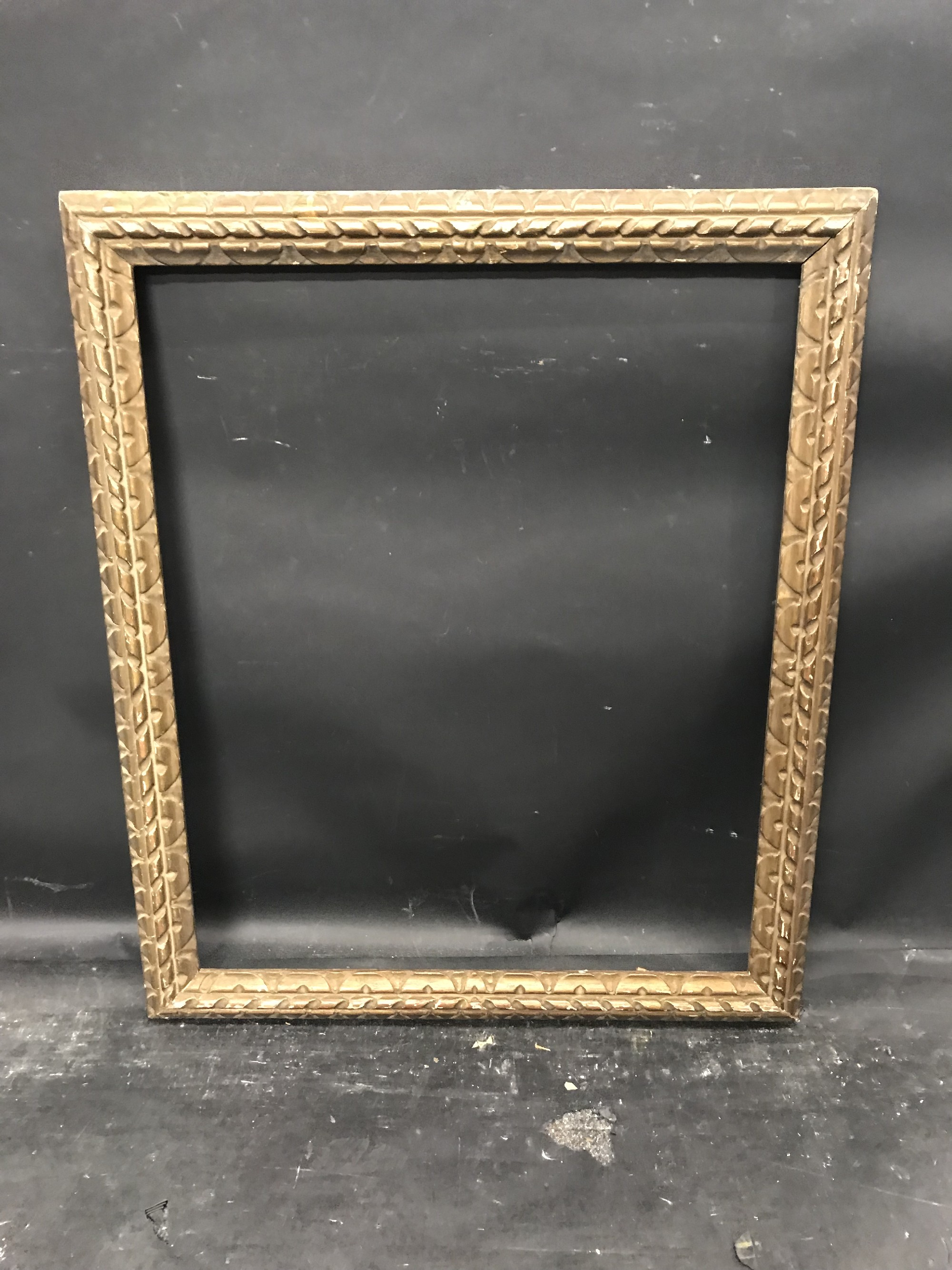 "Lot 35 - 19th Century English School. A Carved Giltwood Frame, 25.5"" x 21""."