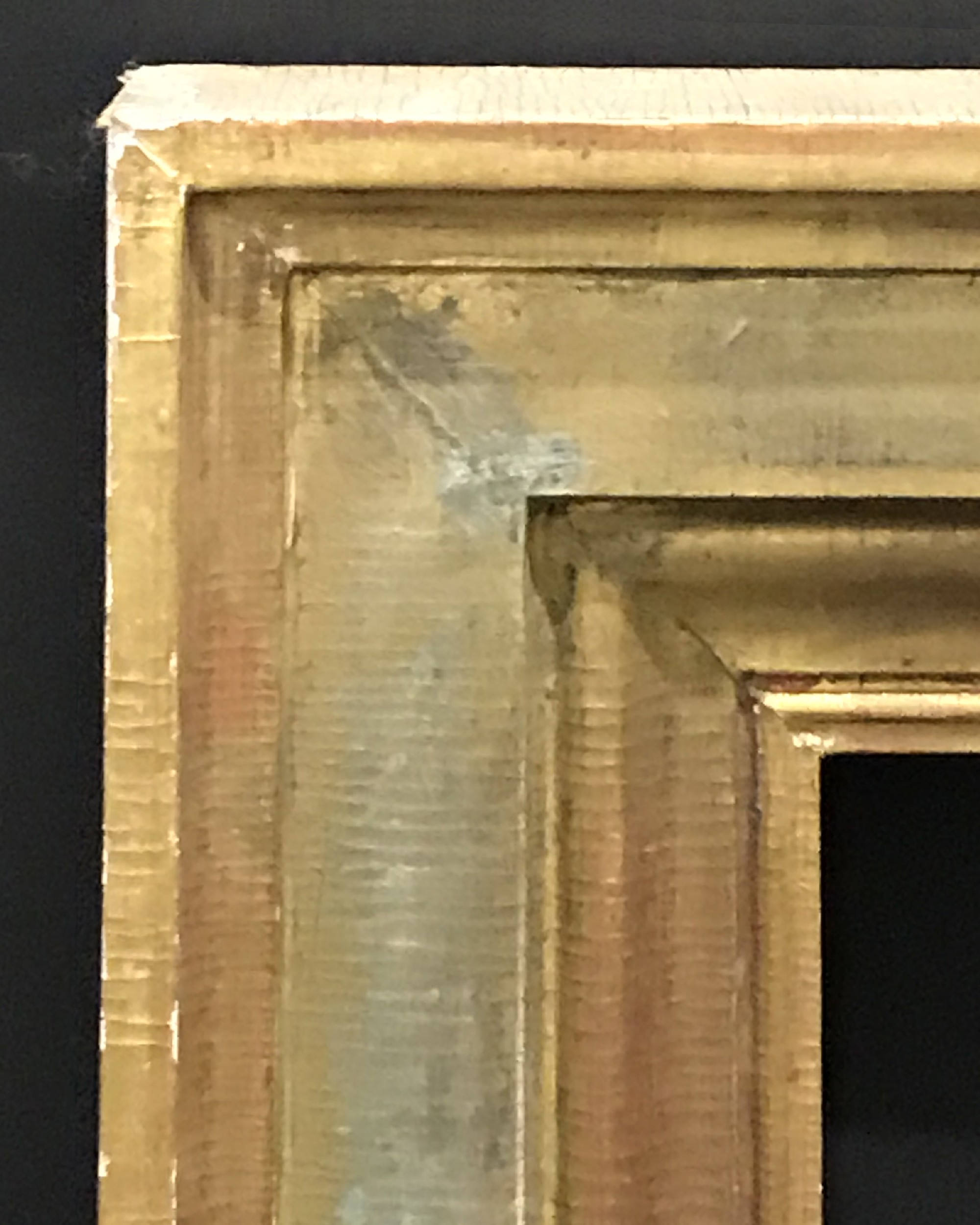 "Lot 7 - 20th Century English School. A Flat Gilt Frame, 34.25"" x 24.75""."