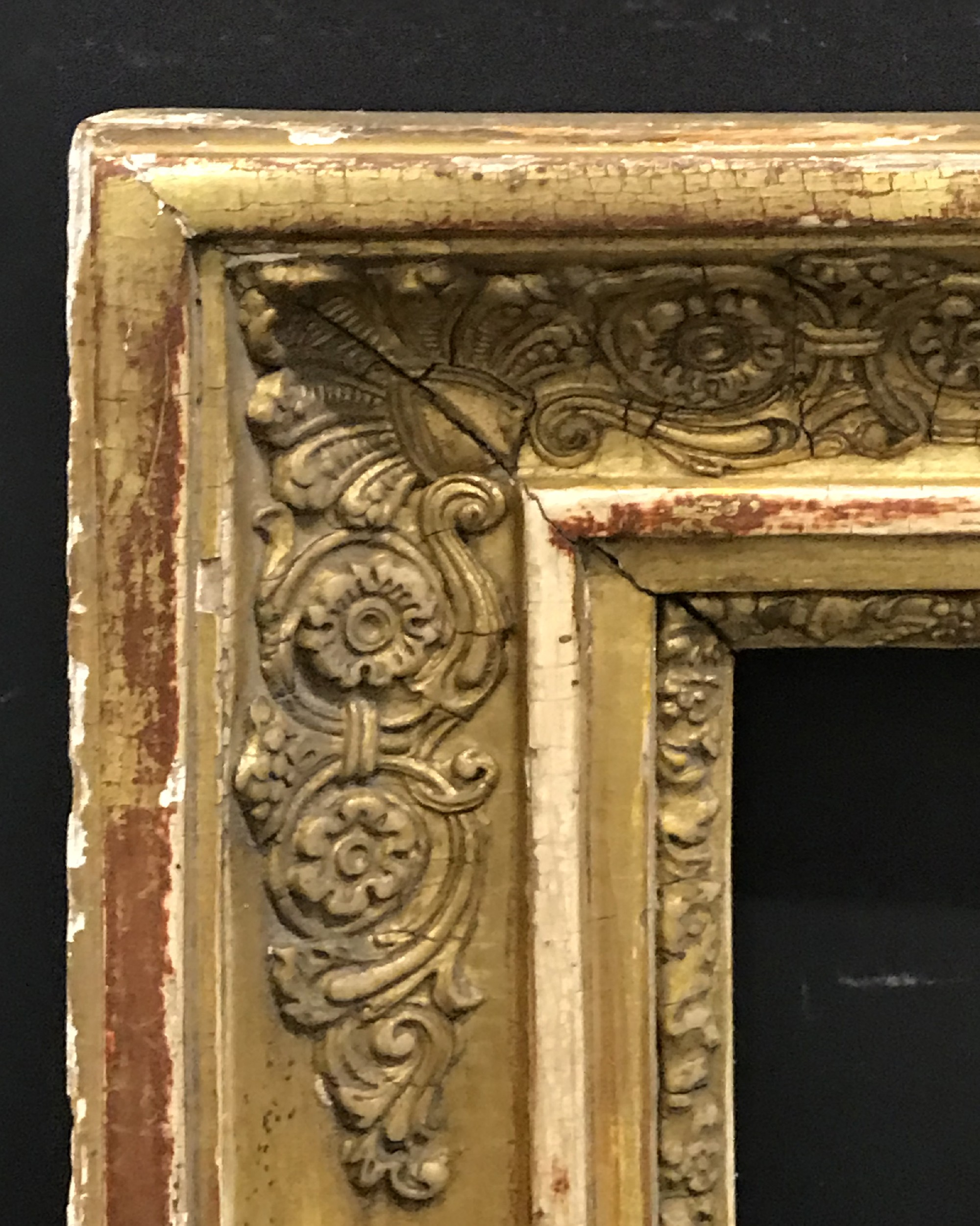 "Lot 12 - 19th Century French School. An Empire Style Frame, 29"" x 22.25""."