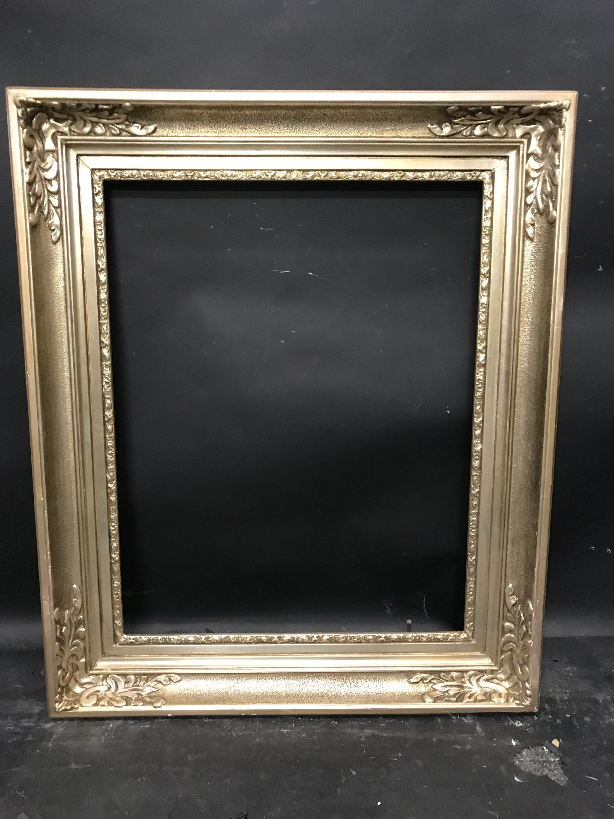 """Lot 39 - 20th Century Continental School. A Painted Silver Frame, 23"""" x 18.25""""."""
