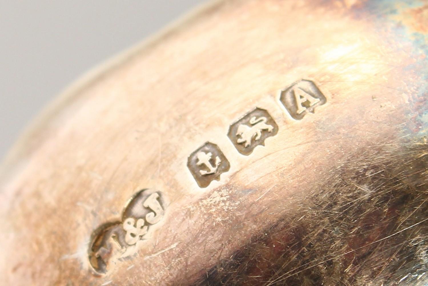 "Lot 2066 - A SET OF SIX ""COFFEE BEAN"" SPOONS, cased. Birmingham 1925."