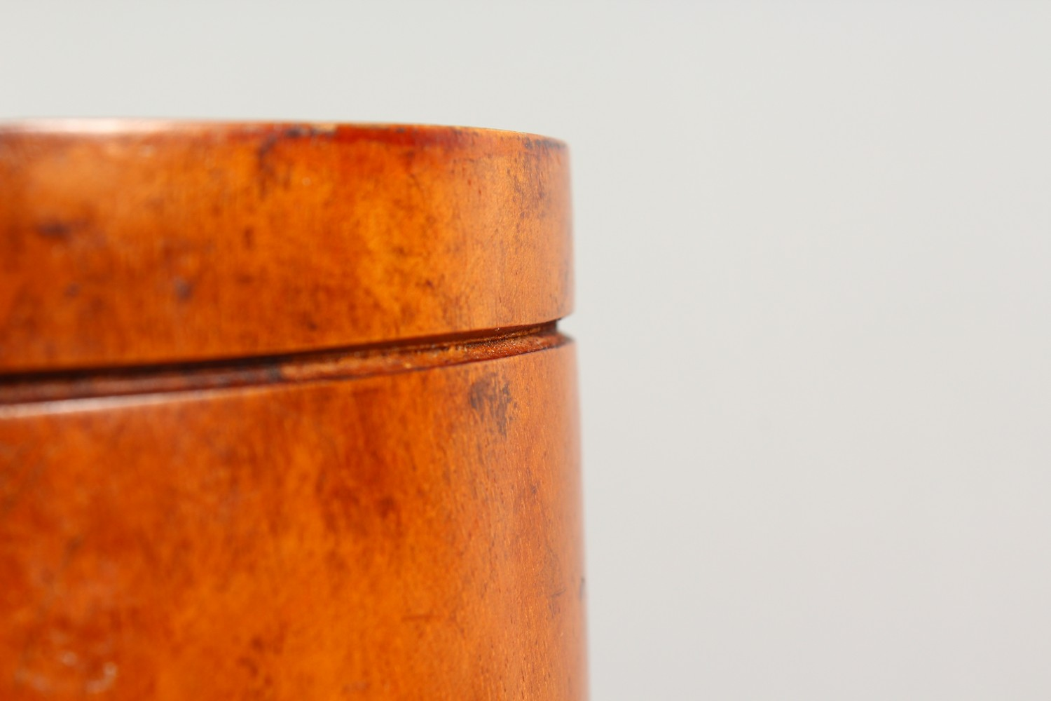 Lot 1513 - A 19TH/20TH CENTURY PESTLE AND MORTAR, possibly sycamore. Mortar: 9ins high.