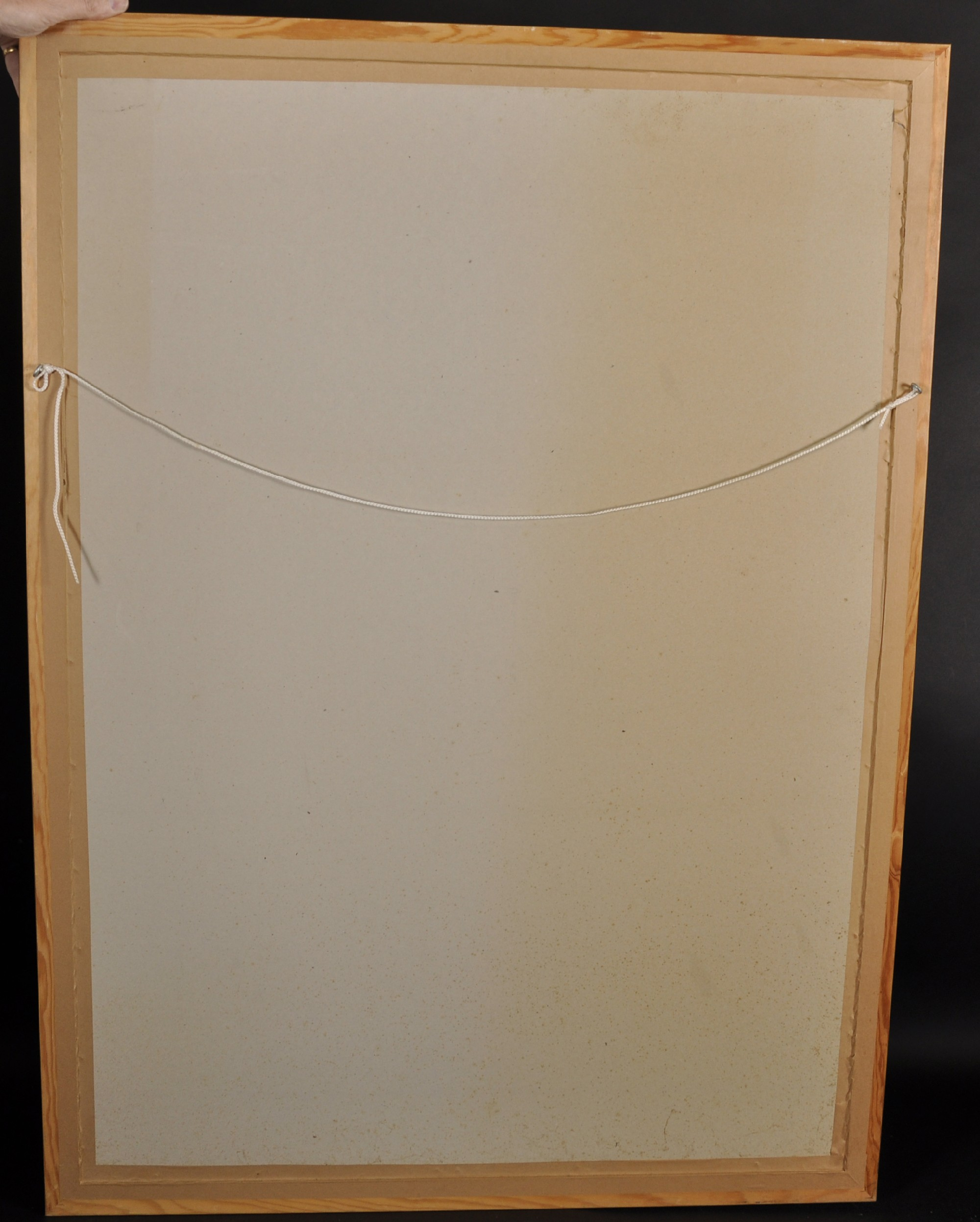 Lot 30 - 20th Century English School. Study of Orangery Doors with Broken Panes, Print, Indistinctly