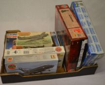 Various model kits including an Airfix Paddle Steamer Engine and Matchbox Beaufighter MK-X