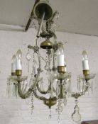 Chandelier (with box containing spare parts)