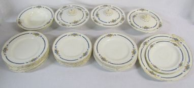 Grindley part dinner service inc tureens and meat plates