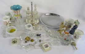 Various silver plate,