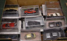 Quantity of 007 James Bond 'James Bond Car Collection' models