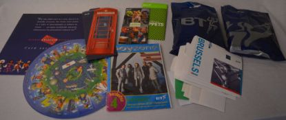 Collection of mainly 1990s BT phone cards