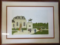 Vincent Haddlesey (1934-2010) pencil signed limited edition artist's proof lithographic print -