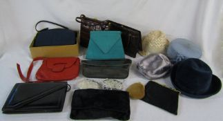 Selection of vintage hats (4),