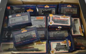Approx 13 boxed Bachmann wagons including T.E. Smith & Son and T.