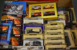 Quantity of die cast model cars including Days Gone,