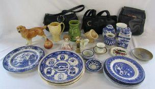 Various ceramics inc Wade and Sylvac,