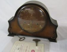 Smiths Westminster chime mantle clock
