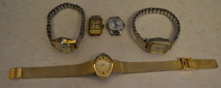 5 mixed costume watches (AF)