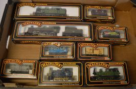 Approx 9 Mainline Railways boxed locomotives and wagons including LNER 9522 and 75001