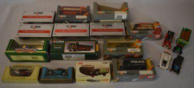 Die cast model cars including boxed Corgi Classics & Collectors Classics
