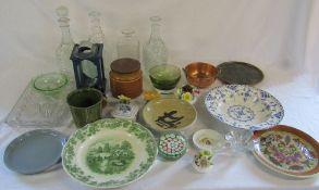 Various ceramics and glassware etc