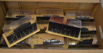 Box of 'The Combat Tank Collection' models