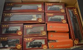 Approx 9 Airfix GMB Great Model Railways locomotives, carriages and wagons,
