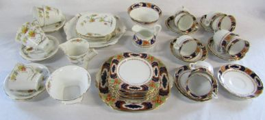 Tuscan China and Standard China part tea services