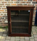 Early 20th century display bookcase H 104 cm L 84 cm