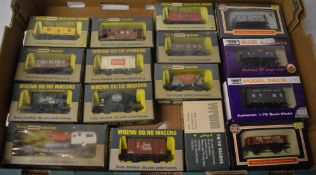 Quantity of boxed Wrenn OO wagons and other similar boxed wagons