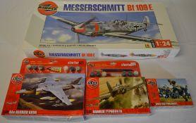 Airfix 1:24 Messerschmitt Bf 109E, 1:72 BAe Harrier GR9A,