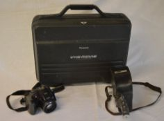 Panasonic M5 camcorder with original fitted case,