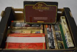 Various boxed die cast models including Mira,