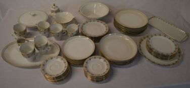 2 German part dinner / tea services including cups, saucers,