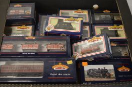 Quantity of boxed Bachmann OO gauge locomotives,
