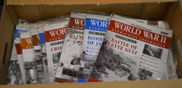 Large quantity of partwork 'The Daily Telegraph - Eyewitness Experience' weekly magazines