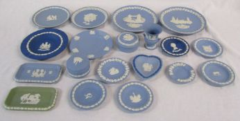 Selection of Wedgwood jasperware