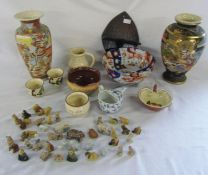 Selection of ceramics inc Wade whimsies & Devon Motto ware