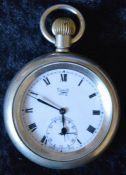 London North Eastern Railway Limit No.2 pocket watch engraved LNER 8962
