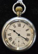 London North Eastern Railway Selex pocket watch engraved LNER 4996