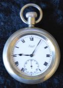 London Midlands Scottish railway Limit pocket watch engraved LMS 7879