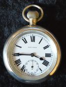 London Passenger Transport Board Record pocket watch engraved LPTB 639