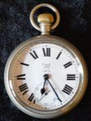 London Midlands & Scottish Railway Limit No.2 pocket watch engraved LMS 7424