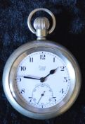 London North Eastern Railway Limit No.2 pocket watch engraved LNER 7292