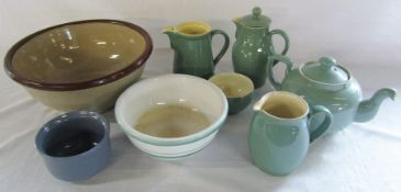 Selection of Denby tableware