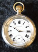 Great Western Railway Record pocket watch engraved on back GWR 02783