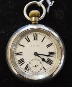 London North Eastern Railway Record pocket watch engraved to back LNER 549