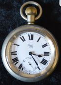 London North Eastern Railway Limit No.2 pocket watch engraved to back LNER 10032