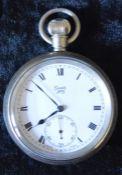 British Rail Scotland Limit No.2 pocket watch engraved BR(Sc) 112