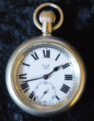 London North Eastern Railway Limit No.2 pocket watch engraved to back LNER 6605