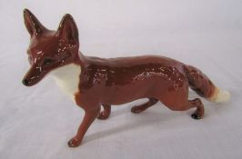 Large Beswick fox no 1016A L 23 cm
