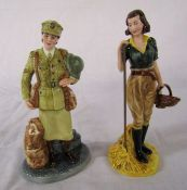 Royal Doulton The Land Girls HN4361 limited edition figurine H 23 cm & Auxiliary Territorial Service